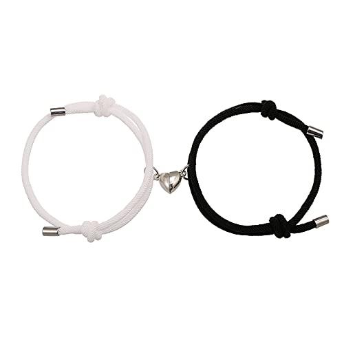 Couple Magnetic Bracelets, Relationship Bracelet Couple Gifts for Boyfriend...