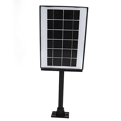 Hyuduo Farola Solar LED, lámpara de detección de Movimiento a Prueba de Agua, lámpara Solar de ABS + Hierro, lámpara de inducción, para Patio de jardín al Aire Libre