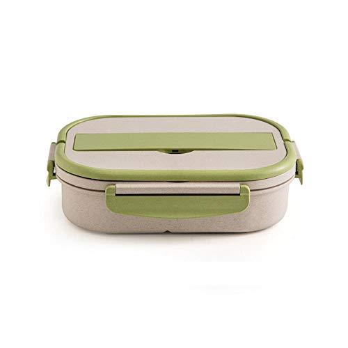 iHouse Eco-Friendly - Fiambrera de fibra de arroz, certificado alemán LFGB para alimentos, con...
