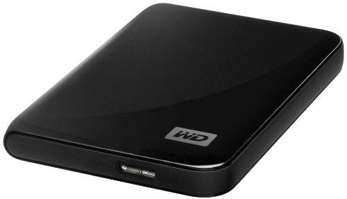 Western Digital WDBACX0010BBK My Passport Essential SE 1TB externe Festplatte (6,4 cm (2,5 Zoll) USB 3.0) metallic-schwarz