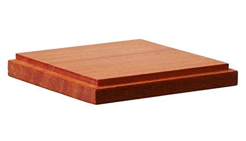 GSIクレオス 木製ベース 角型 S ホビー用ディスプレイベース DB001