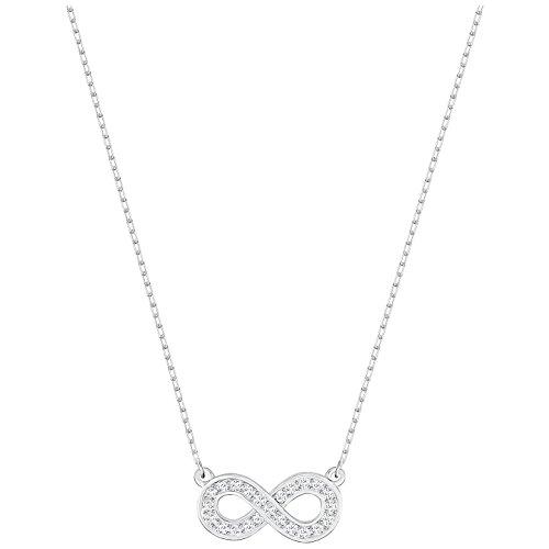 Swarovski Infinity-Halskette (mit Unendlichkeitssymbol), weiß, 5358777