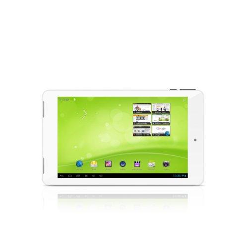 TrekStor SurfTab ventos 7.0 HD 17,8 cm (7 Zoll) Tablet-PC (Qualcomm, 1,4GHz, 1GB RAM, 16GB HDD, Mali-400 MP, 400MHz, 2-Core, Android) weiß