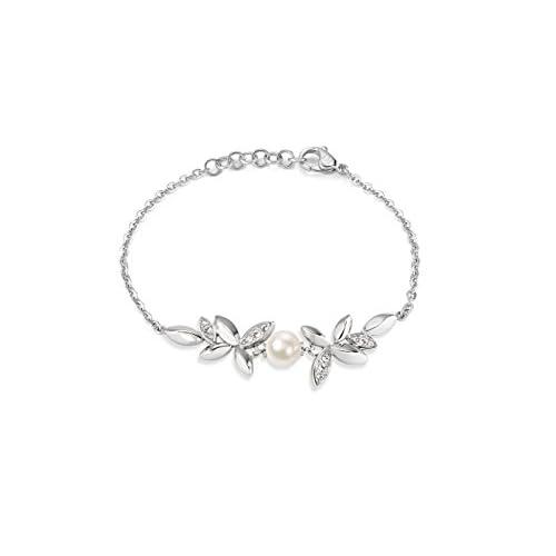 Morellato SAER24, Bracciale da Donna Gioia, Acciaio Inossidabile, Cristallo Bianco
