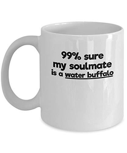 N\A Taza de Alma Gemela de Cerdo de Guineau, Taza de cerámica para café, té, Regalo Grande de 11 oz y 11 oz