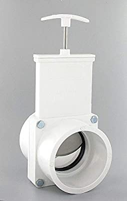 Gate Valve, Class 125, 3 In., PVC from VALTERRA