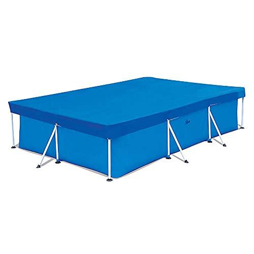 4YANG Cubierta rectangular para piscina, 450 x 220 cm, resistente a la lluvia, cubierta protectora para piscina, marco de piscina, para jardín, familia, alberca, alberca, piscina al aire libre