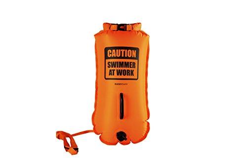 Buddyswim 250815 Boya de Seguridad para Aguas Abiertas, Naranja, 28LT