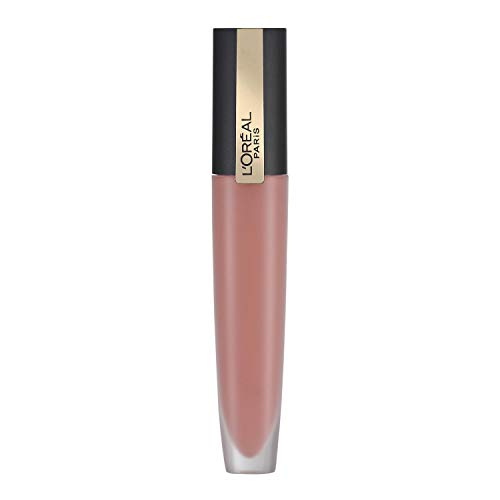L'Oréal Paris Rossetto Liquido Rouge Signature, Tinta Labbra a Lunga Tenuta, Formula Leggera e Finish Extra Matte, 110 I Empower