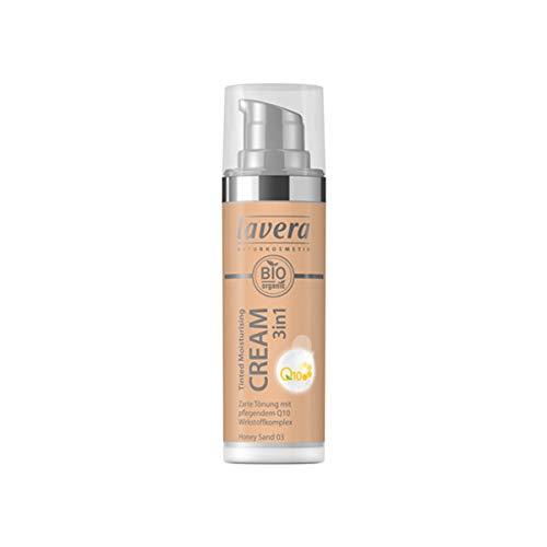 Lavera Bio Tinted Moisturising Cream 3in1 Q10 -Honey Sand 03- (6 x 30 ml)