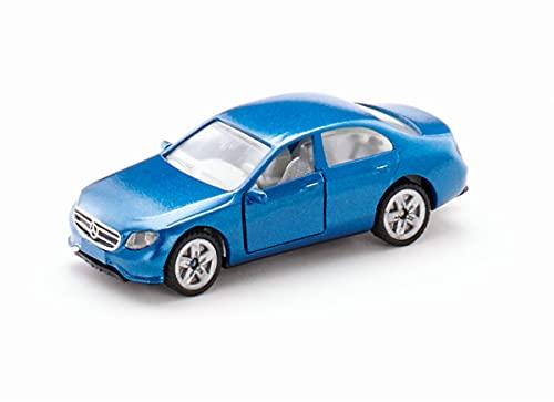 SIKU 1501, Mercedes-Benz E350d, Metallo/Plastica, Blu, Portiere Apribili, Auto Giocattolo per Bambini