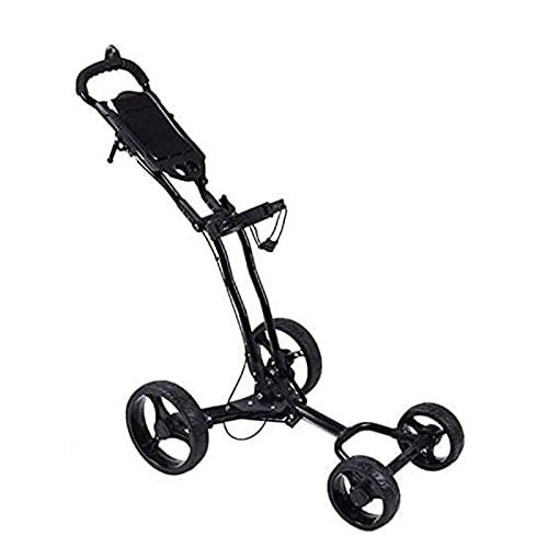 HBHYQ Carrito de Golf al Aire Libre de 4 Ruedas, 81 * 45 * 37cm Encendedor Exterior/Fácil de Usar, Deportes para Exteriores/Uso de Oficina, fácil de Mover