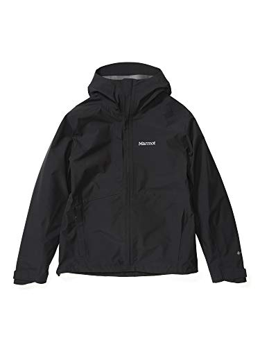 Marmot Herren Minimalist Jacket, wasserdichte GORE-TEX-Regenjacke, winddichter Regenmantel zum Fahrradfahren, atmungsaktiver Hardshell Windbreaker als Übergangsjacke, Black (2020), XL