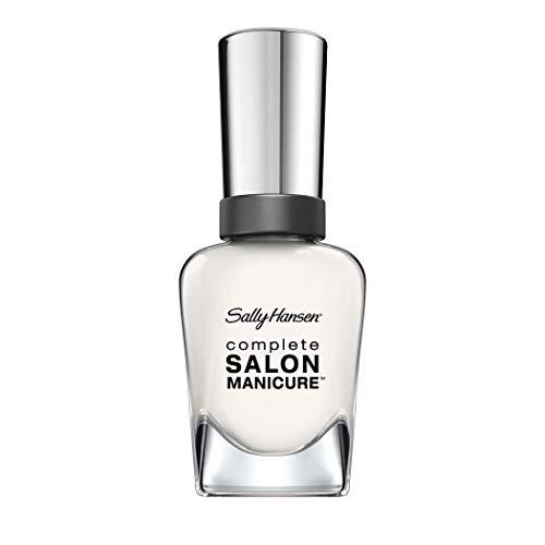 Sally Hansen Complete Salon Manicure nagellak met keratine-complex Arm Candy, lichtroze, glanzende onderhoudsgelack zonder UV-licht, langdurig nr. 175, (1 x 14,7 ml)