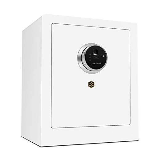 Cassaforte YXX Cassetta di Sicurezza 45 Cm di Altezza Cassetta di Sicurezza per Impronte Digitali per Documenti, Denaro E Dormitorio College - Casseforti per Armadietti di Sicurezza Aziendali con 2