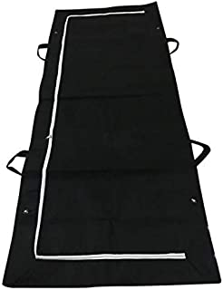 Body Bag Dead Body Bag Hospital Morgue Waterproof Filling Body Bag Stretcher Combo with Side Handles Outdoor Camping Hikin...