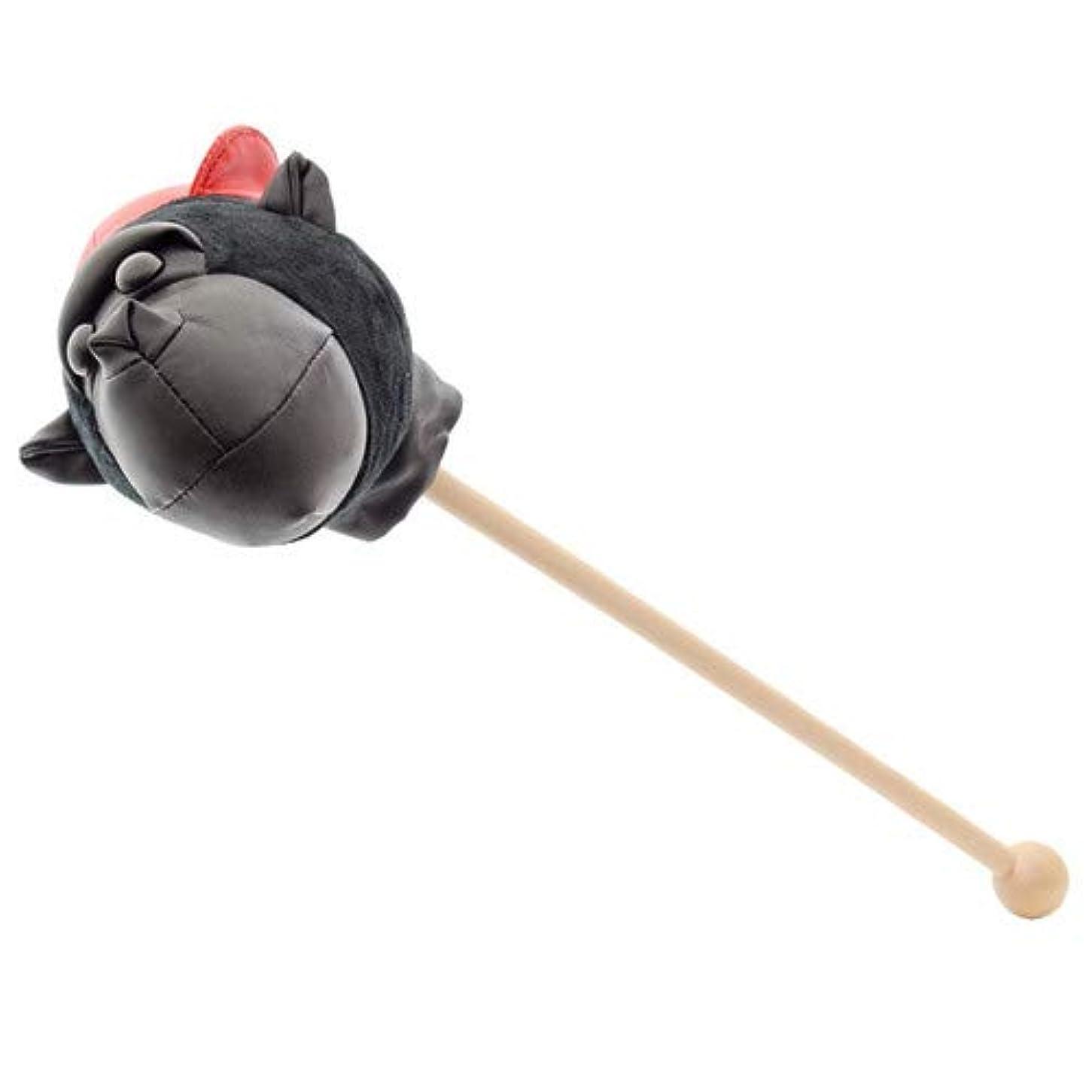 頭蓋骨異形流産ゴリラ 肩たたき棒 (ブラック)