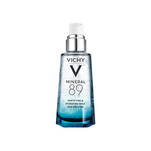 Vichy Minéral 89 Daily Skin Booster Serum and Moisturizer, 1.69 Fl Oz