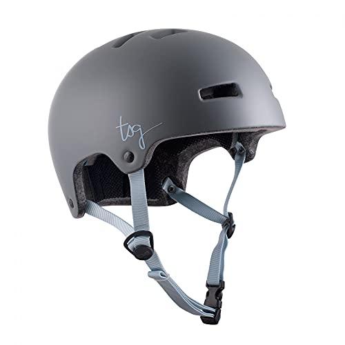 TSG Ivy Solid Color Helm grau/blau 2021 Fahrradhelm