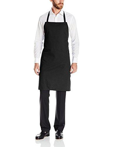 Dickies Chef Men's Bib Apron, Stripe Black/White, One Size