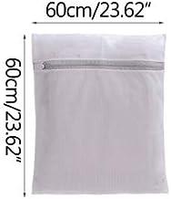 New Thickened Fine Mesh Underwear Laundry Bag Bra Underwear Designer Wash Bag Set Machine Wash Net Pocket (Color : 60x60 cm)