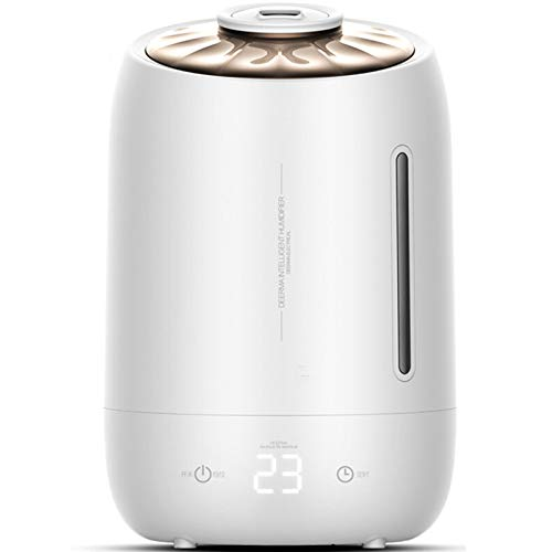 ZPL Grande Capacidad Aroma Difusor 5L Humidificador De Aire Mini Humidificador Mudo Sincronización Función Transparente Agua Calibre Casa Cuarto Oficina