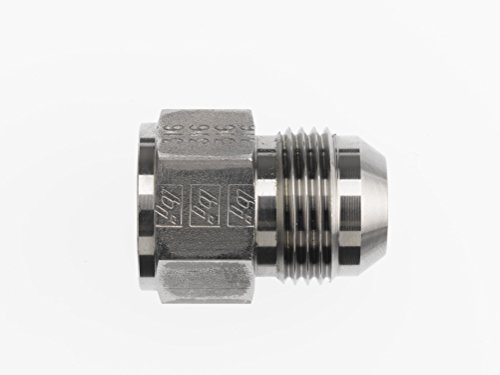 5//8 Male Flare x 1//2 Female Flare Thread 1.00 Hex Size Midland 10-469 Brass SAE 45 Degree Flare Reducer