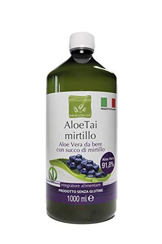 Benessence - Succo di Aloe Vera con Mirtillo - 1000 ml