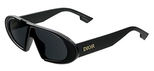 Dior DIOR OBLIQUE BLACK/GREY 64/1/145 unisex Sunglasses