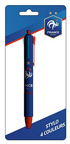 Frankrijk voetbalelftal balpen 4 kleuren FFF – officiële collectie