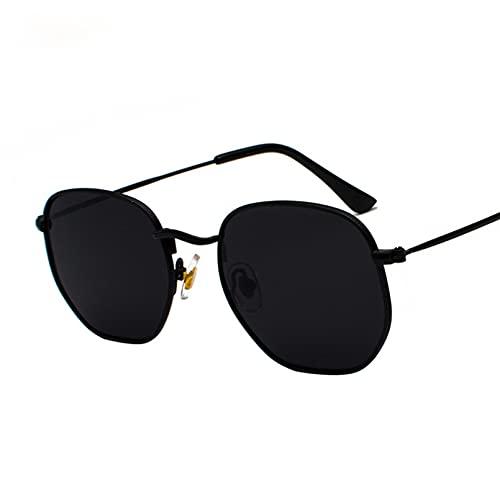 LUOXUEFEI Gafas De Sol Gafas De Sol Hombre Gafas De Sol Cuadradas Espejo Gafas De Sol MujerGafas DeVerano