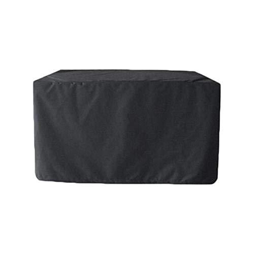 QUUY - Cubierta Protectora Impermeable para Muebles de jardín, para Patio, Rectangular, Resistente al Polvo, de poliéster, 120 x 120 x 74cm