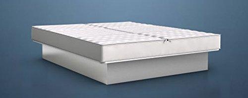 BluTimes Bezug BluStar Tencel®-Medicott und Bezugsborder aus Textilleder für Wasserbetten - in verschiedenen Größen, Größe:140x200
