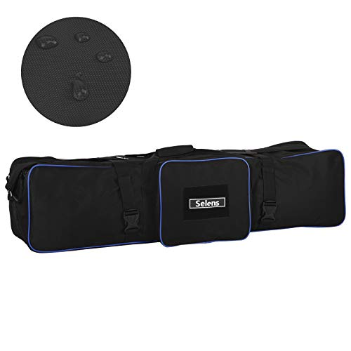 Selens 105x25x28cm Bolsa de Transporte Estuche Carrying Case Bag para Light Stand Soporte de Luz Softbox Aparatos de Iluminación Lighting Set Fotografía Estudio Fotográfico