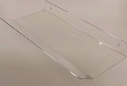 Deflettore in plexiglass spessore 3 mm larghezza cm 80 per deviare l aria da split condizionatore