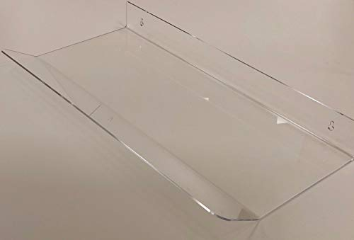 Deflettore in plexiglass spessore 3 mm larghezza cm 80 per deviare l'aria da split condizionatore