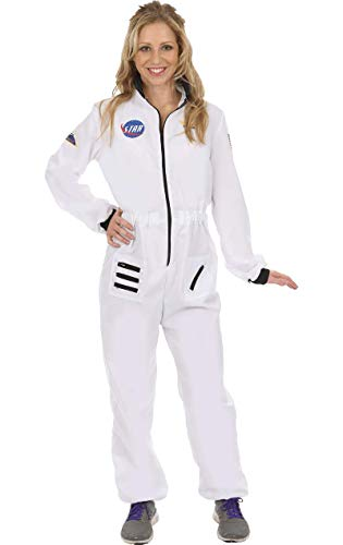 ORION COSTUMES Adult Women's White Astronaut Costume