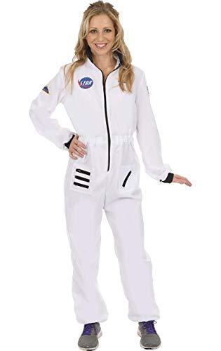 ORION COSTUMES Damen Astronaut Weißer Raumfahreranzug Uniform Maskenkostüm