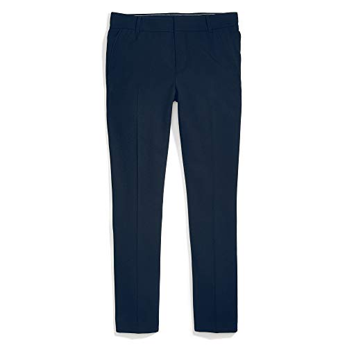 Tommy Hilfiger Women's Adaptive Skinny Stretch Pant with Adjustable Waist and Magnetic Buttons, Masters Navy, 4 Regular