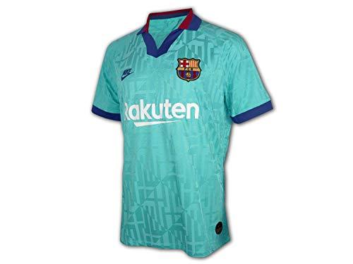 NIKE FC Barcelona Vapor Match 2019/20 Camiseta, Hombre, Cabana/Deep Royal Blue, M