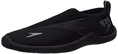 Speedo Men's Water Shoe Surfwalker Pro 3.0,Speedo Black,12 Mens US