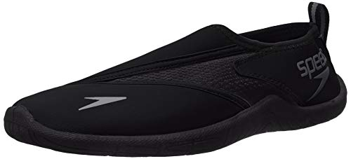 Speedo Men's Water Shoe Surfwalker Pro 3.0,Speedo Black,10 Mens US