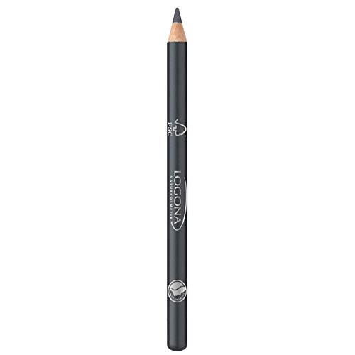 LOGONA Naturkosmetik Eyeliner Pencil No. 03 Granite, Eyelinerstift, Klassischer Kajalstift, Natural...
