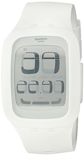 Swatch Touch Unisex Digitaluhr weiß