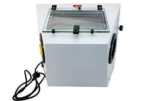 Baoshishan Kleine Tisch-Sandstrahlmaschine, Metall-Oberfläche, Poliermaschine, Schmuck Poliermaschine - 220V