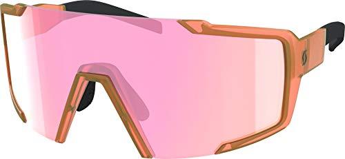 Scott Shield - Gafas intercambiables para bicicleta, color naranja y rosa