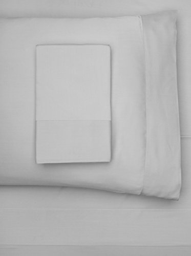 Nine Space Viscose from Bamboo Solid Sheet Set, Grey, King