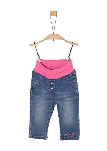 s.Oliver Junior 405.10.002.26.180.2022012 Jeans, Baby - Mädchen, Blau 86 EU