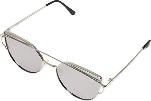 Urban Classics Unisex Sunglasses July UC Sonnenbrille, Silver, one size