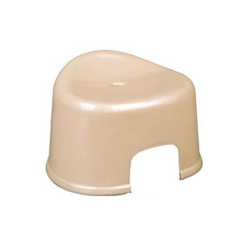 Household Badezimmer-Hocker, Kunststoff-Stabiler Kunststoff-Stapelhocker rutschfeste, leicht zu reinigen Alter Hocker für kleine Kinderhocker im Freien Stapeln Footstool (Color : B)